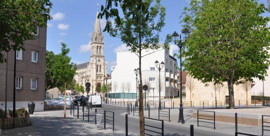 Espace public de la Chapelle St Jean-Baptiste