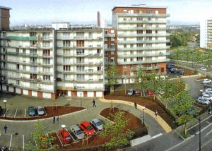 Résidentialisation Place du Mont Gaillard au Havre