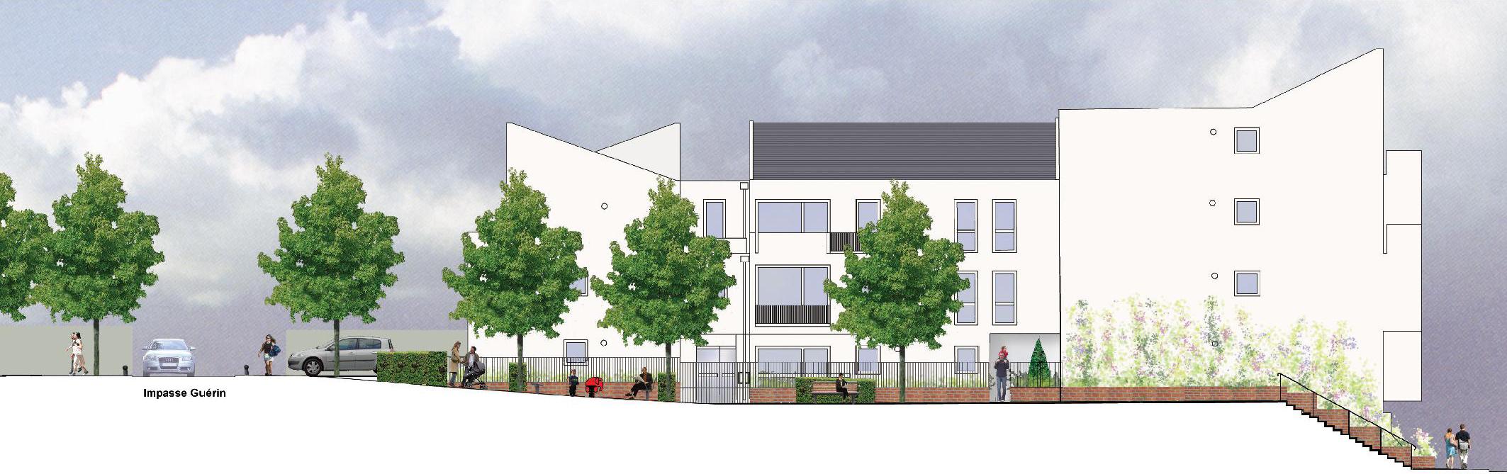 Résidentialisation Groupe 4007 Valenton