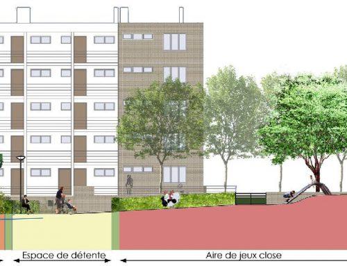 Restructuration des espaces extérieurs de la Résidence Floréal- Bonneuil sur Marne (94)