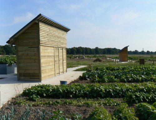 Aménagement de jardins Eco-solidaires Route de Sahurs – Canteleu (76)