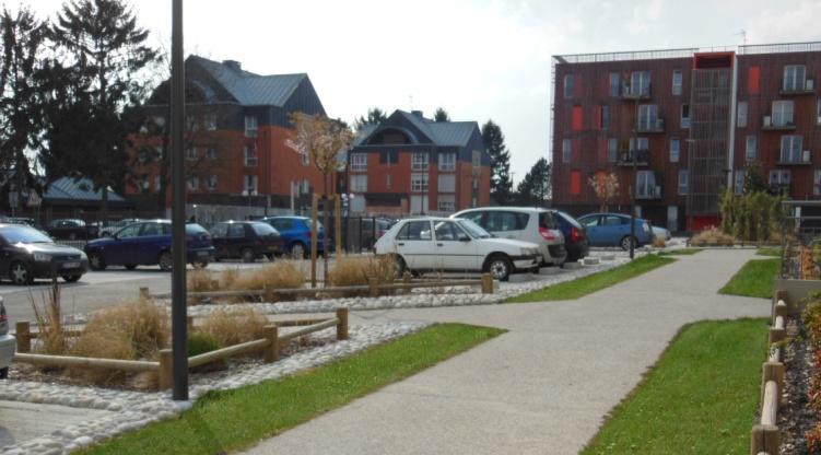 Résidentialisation de 213 logements à Fosses