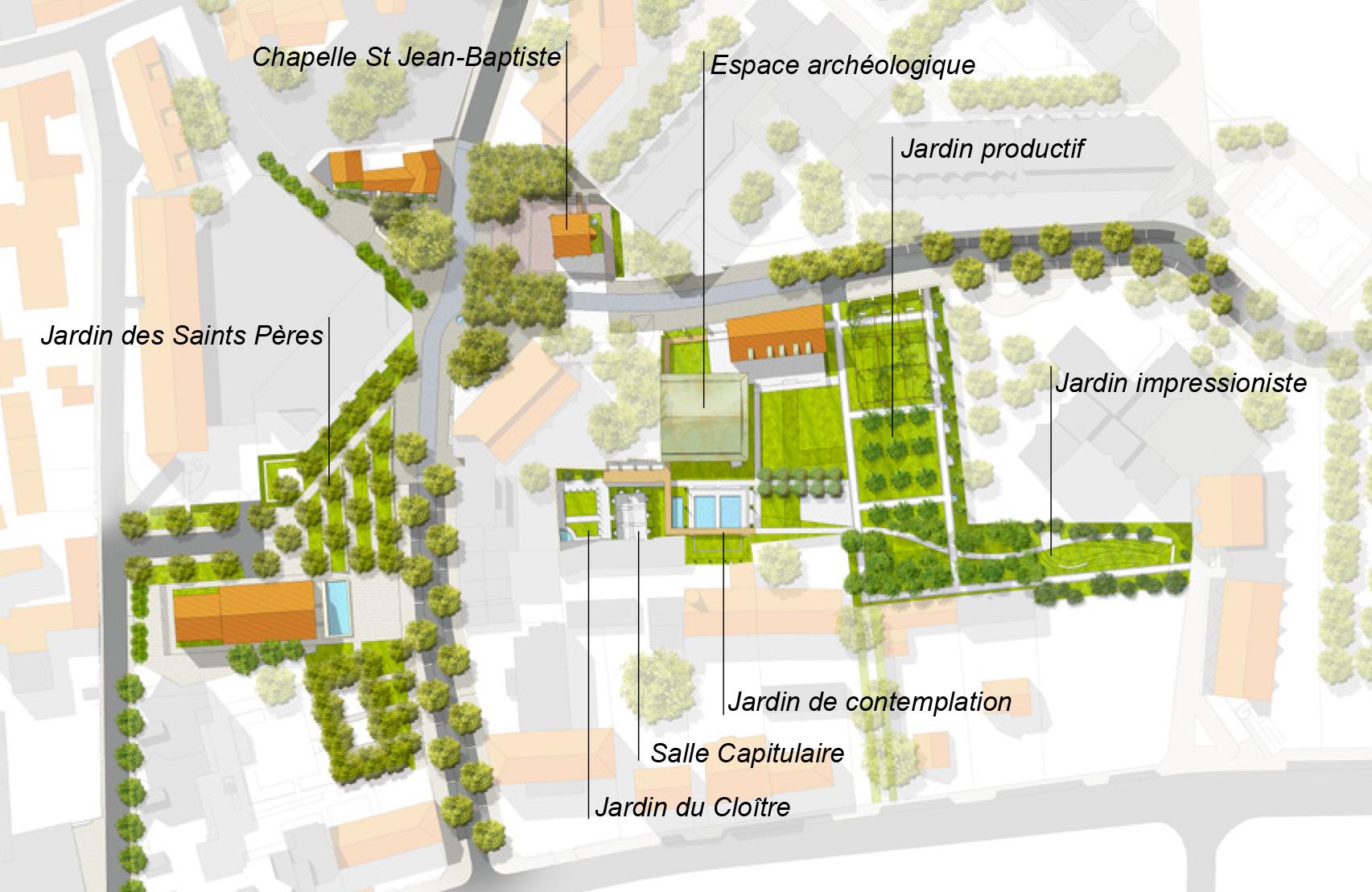 Plan de masse Argenteuil